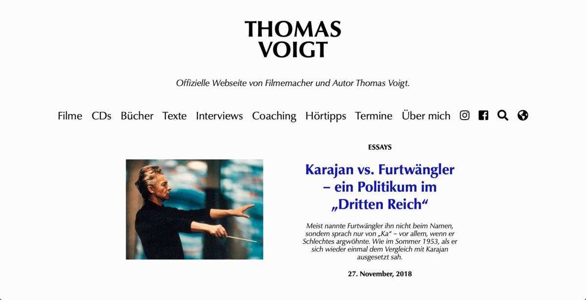 Thomas Voigt's website