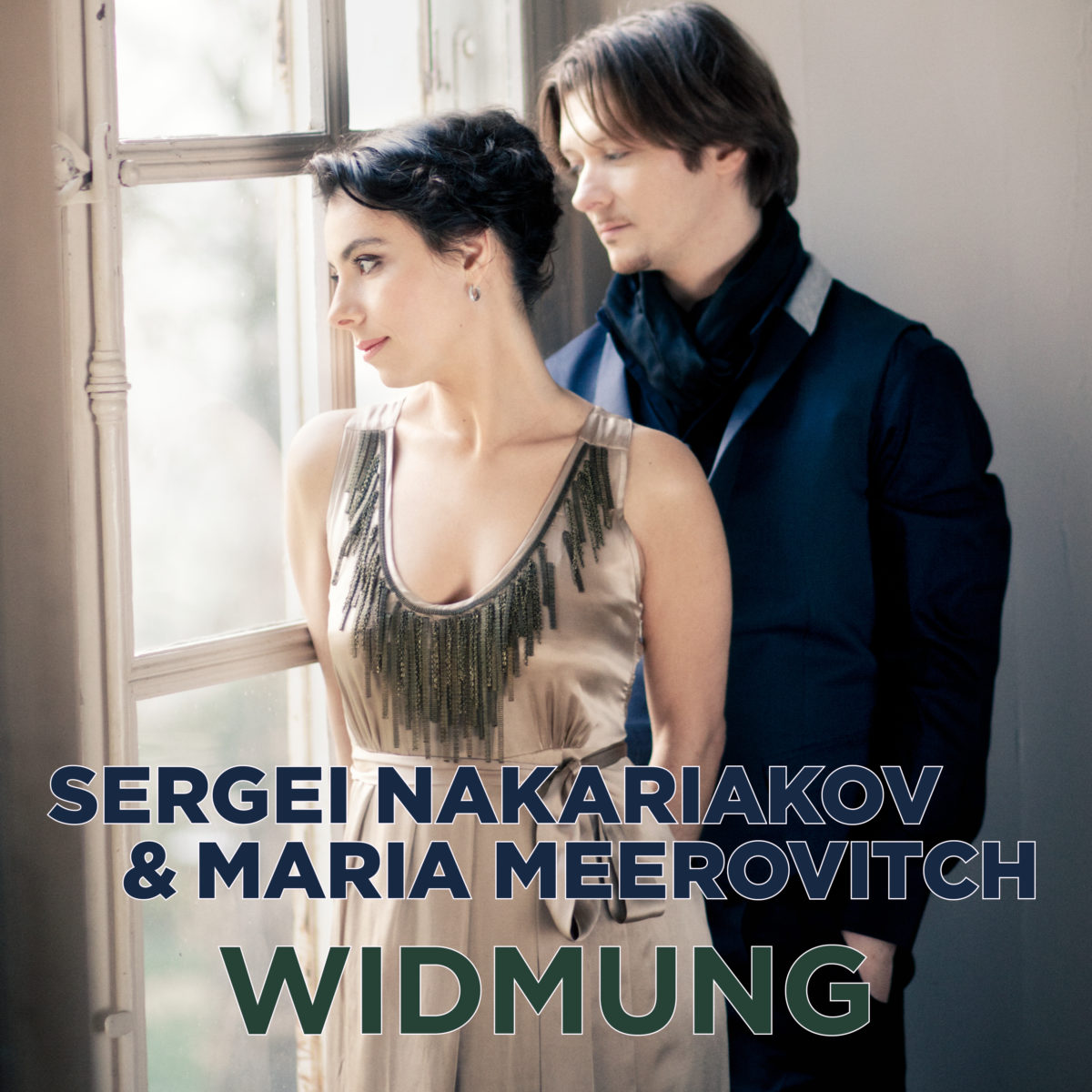 The album cover of Widmung by Sergei Nakariakov